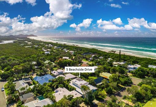 5 beachside drive location